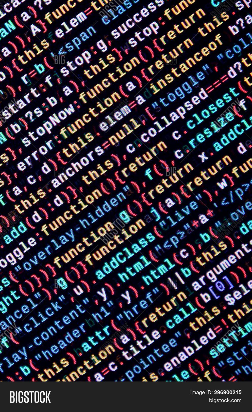 Javascript Code Text Image & Photo (Free Trial) | Bigstock