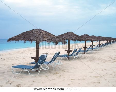 Beach Palapas and Chairs