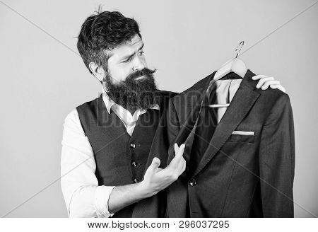 Elegant Custom Suit. Tailoring And Clothes Design. Perfect Fit. Custom Made To Measure. Tailored Sui