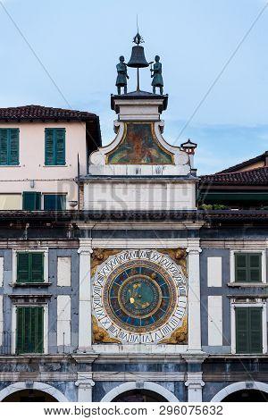 Piazza Loggia In Brescia, A City In Region Of Lombardy In Northern Italy.