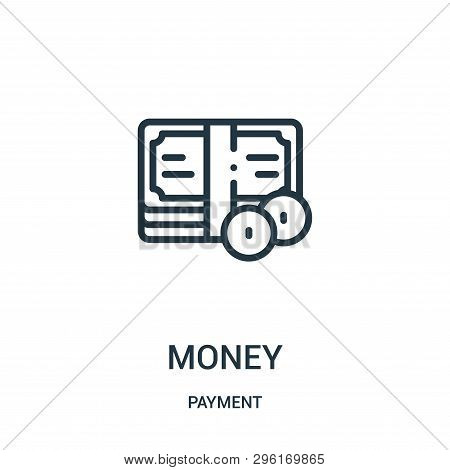 Money Icon Isolated On White Background From Payment Collection. Money Icon Trendy And Modern Money