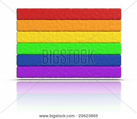 Gay Pride / Rainbow Flag