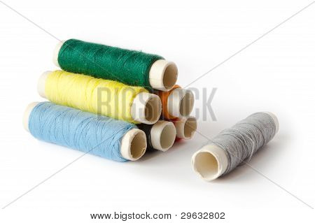 Sewing Thread Isolated
