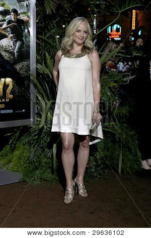 LOS ANGELES - FEB 2:  Marley Shelton arrives at the