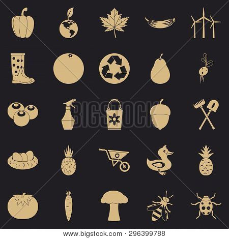 Pleasure Ground Icons Set. Simple Set Of 25 Pleasure Ground Vector Icons For Web For Any Design