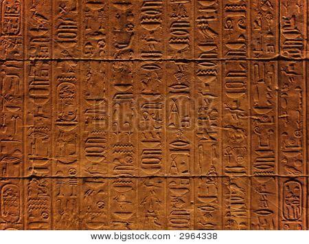 Hieroglyphic Tile.