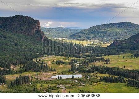 Wolf Creek Pass. Colorado Rocky Mountain Scenic Beauty