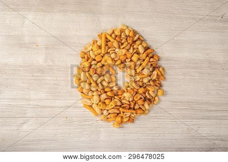 Nuts Making Numbers, Snack For Between Hours