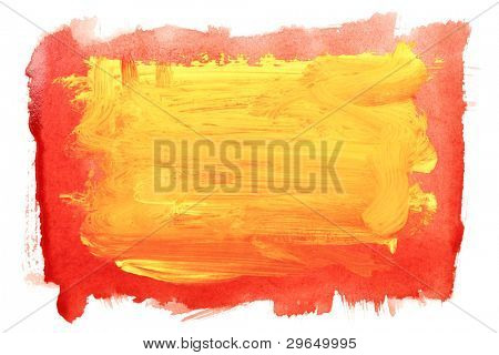 Yellow brush strokes, may be used as background