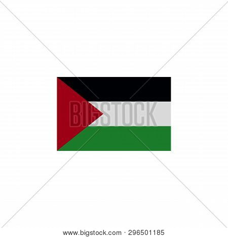 Flag Of Gaza Strip Colored Icon. Elements Of Flags Illustration Icon. Signs And Symbols Can Be Used