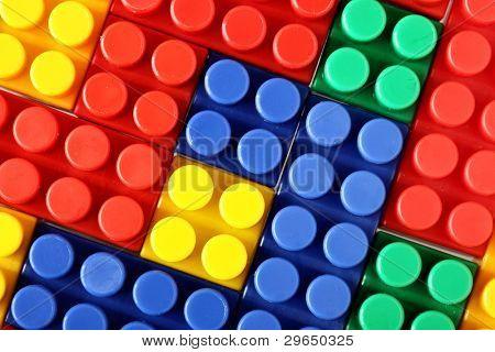 Coloridos bloques de Mecano