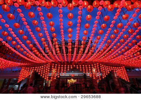 Lantern decoration