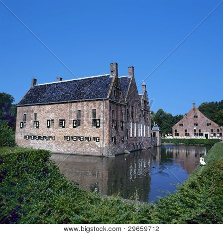 The Menkemaborg A Castle In Uithuizen