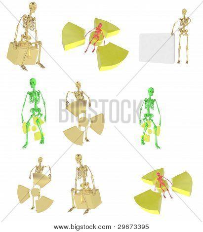 3D Sceleton Set