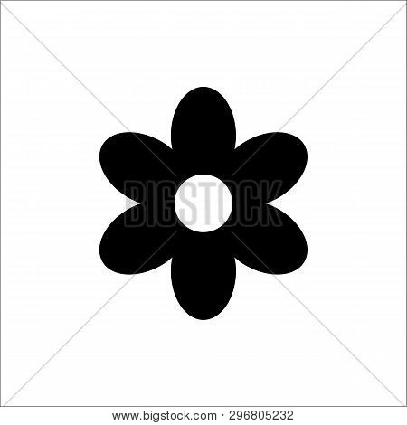 Flower Icon Isolated On White Background. Flower Icon Simple Sign. Flower Icon Trendy And Modern Sym