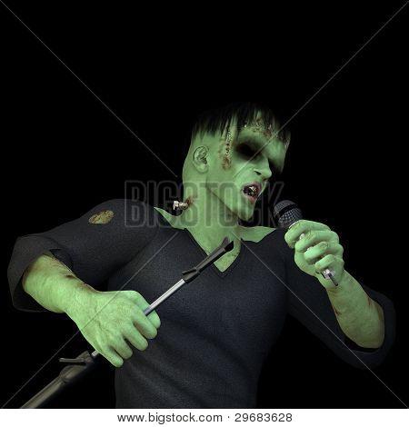 Frankenstein's Monster Singing
