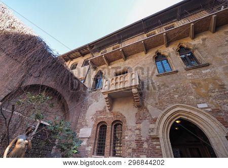 House Of Juliet In Verona