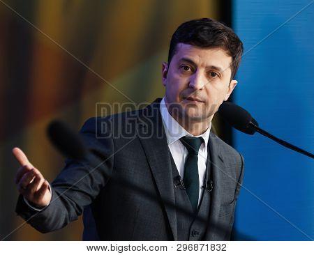 Newly Elected President Of Ukraine Vladimir Zelensky