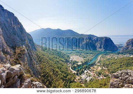 Omis, Croatia, Europe - Feeling The Beauty Of Omis From A Viewpoint