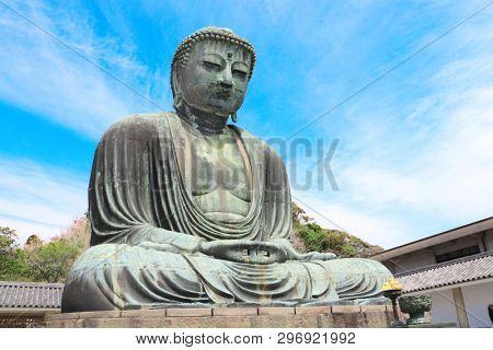 The Great Buddha, Kotoku-in temple, Kamakura, Japan
