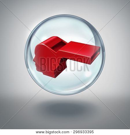 Whistleblower Protection Or Whistle Blower Security Social Issue As A Symbol For Legal Justice For A