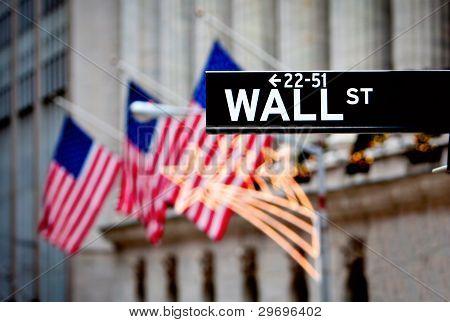 Signo de Wall Street