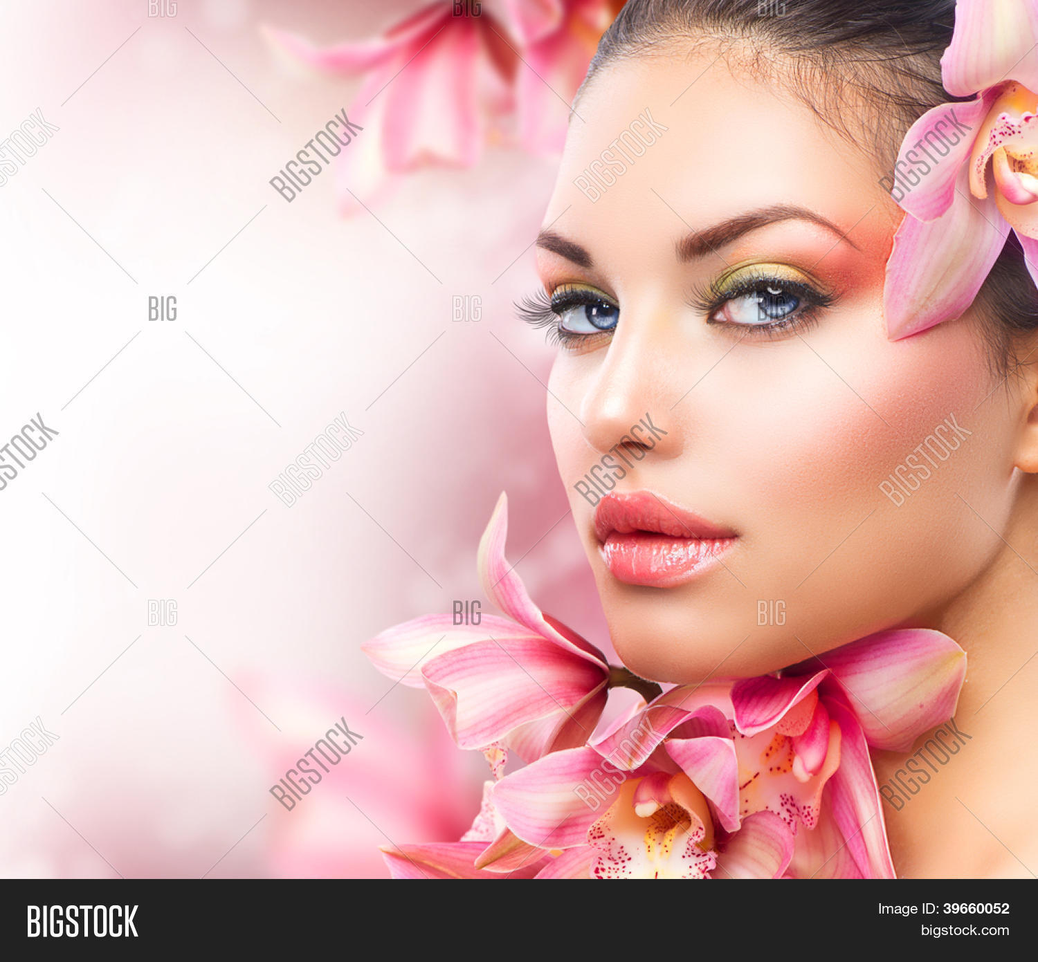 Beautiful Girl Orchid Image & Photo (Free Trial)