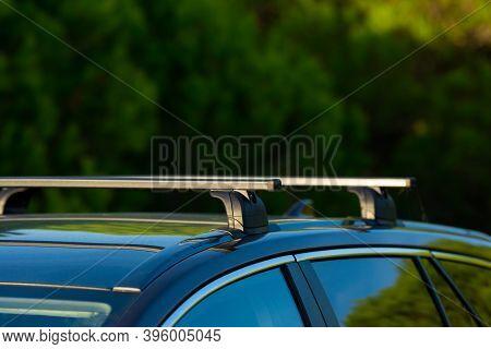 Roof Rack On Station Wagon Or Estate Car