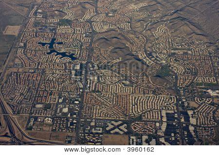 Aerial Of Phoenix Arizona