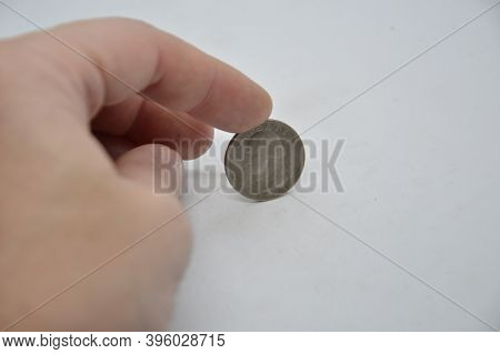 Financial Composition With Us Coin