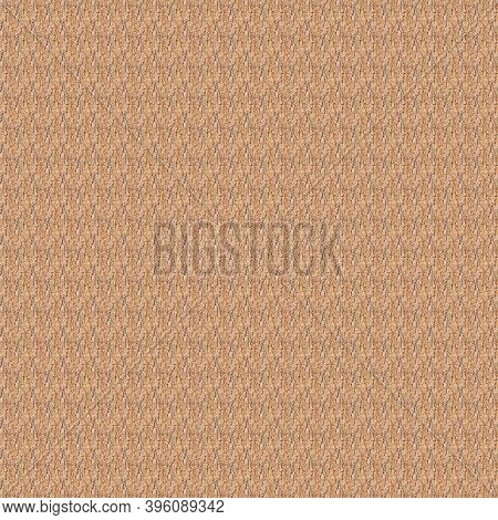 Elm Tree Brown Bark Seamless Background Texture Concept. Top View. Close Up. Selective Soft Focus. S