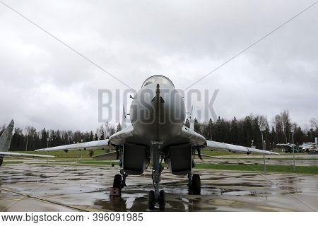 View Of Soviet Multirole Fighter Fulcrum