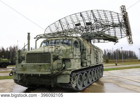 View Of Military Radar Station Long Track P-40