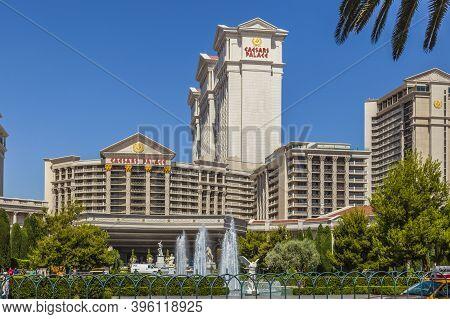 Las Vegas, June 15, 2012: Caesar's Palace On The Vegas Strip In Las Vegas, Nevada. This World Class