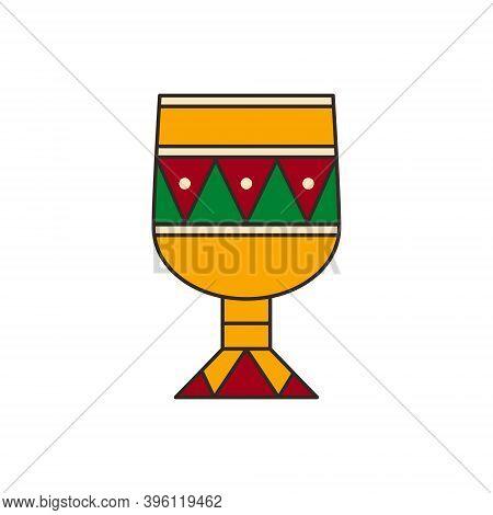Kikombe Cha Umoja - Isolated Vector Illustration. Kikombe Cha Umoja Is Traditional Symbol Of Kwanzaa