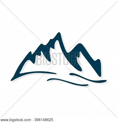 Mountains. Mountain Logo Vector. Mountain Icon Vector. Mountain Icon. Mountains Logo. Mountain Logo