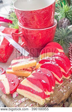 Homemade Peppermint Cookies