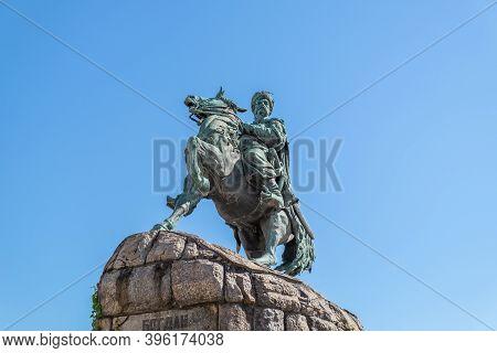 Bohdan Khmelnytsky Monument In Kyiv Dedicated To The Hetman Of Zaporizhian Host Bohdan Khmelnytsky B