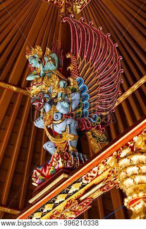 Temple Pura Gua Gajah in Bali Island Indonesia - travel and architecture background