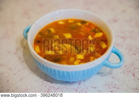 Thai Food, Tom Yam Kung, Shirmp Soup