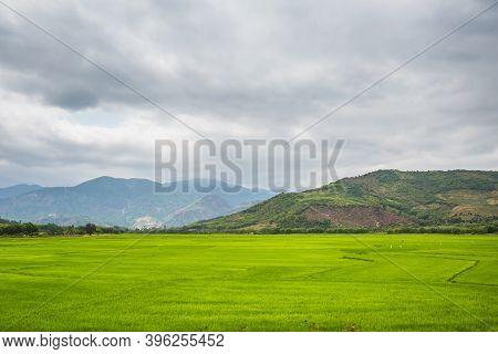 Vietnamese Mountains Close To Dalat
