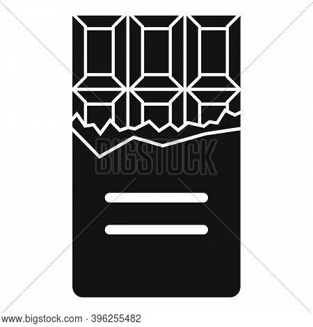 Duty Free Shop Chocolate Bar Icon. Simple Illustration Of Duty Free Shop Chocolate Bar Vector Icon F