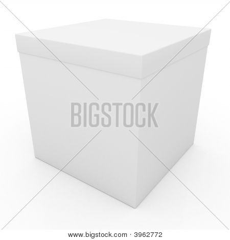 Blank Package Gift Box