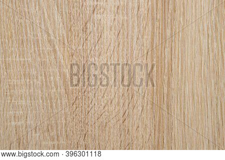 Wood Texture - Top View And Close-up Of Light Brown Furniture Veneer