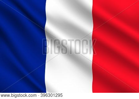 French Flag, France Country National Vector Identity. Foreign Language Learning, International Busin