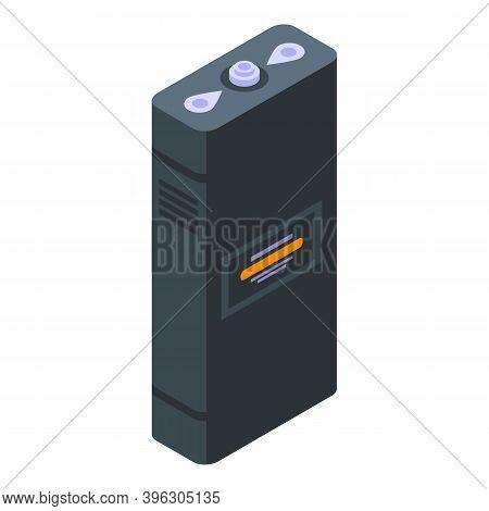 Bandit Taser Icon. Isometric Of Bandit Taser Vector Icon For Web Design Isolated On White Background
