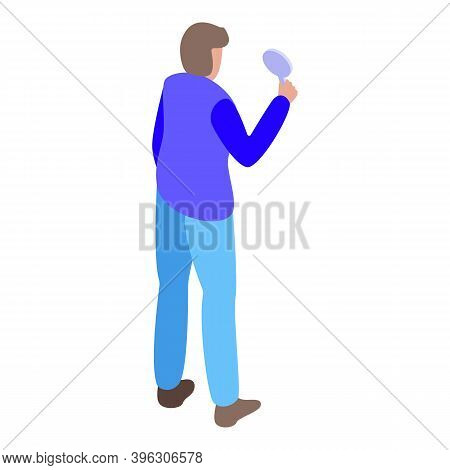 Auction Participant Icon. Isometric Of Auction Participant Vector Icon For Web Design Isolated On Wh