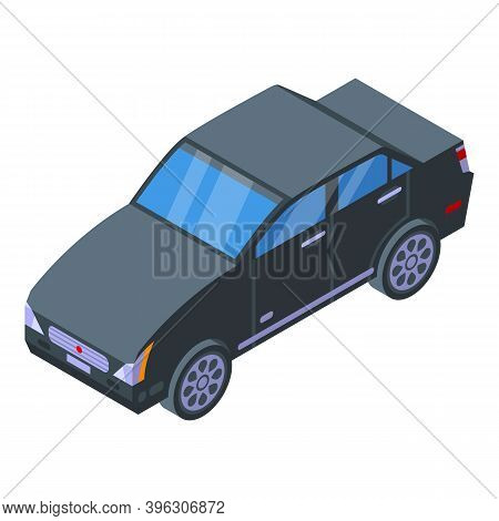 Car Auction Icon. Isometric Of Car Auction Vector Icon For Web Design Isolated On White Background