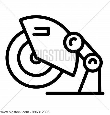 Care Grinding Machine Icon. Outline Care Grinding Machine Vector Icon For Web Design Isolated On Whi