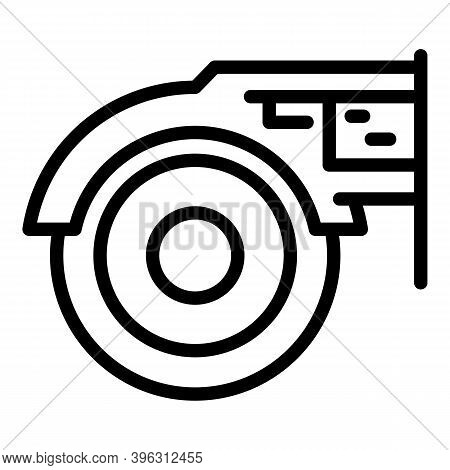Device Grinding Machine Icon. Outline Device Grinding Machine Vector Icon For Web Design Isolated On